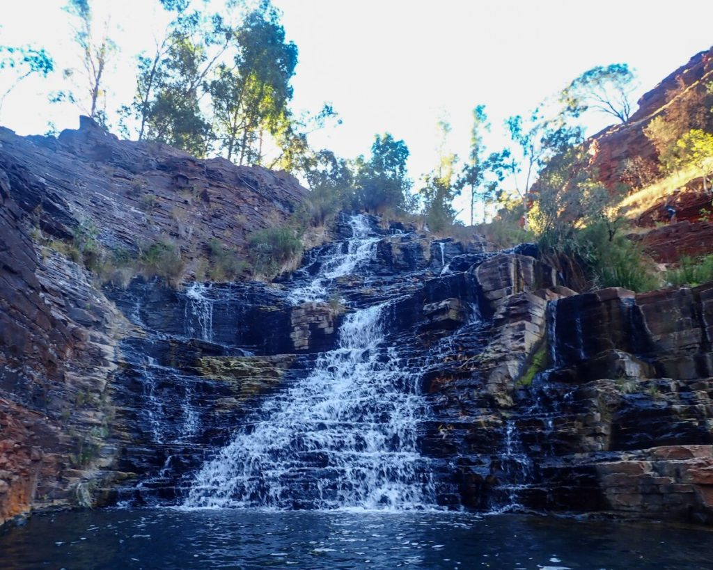 Fortescue Falls Waterfall in Dales Gorge