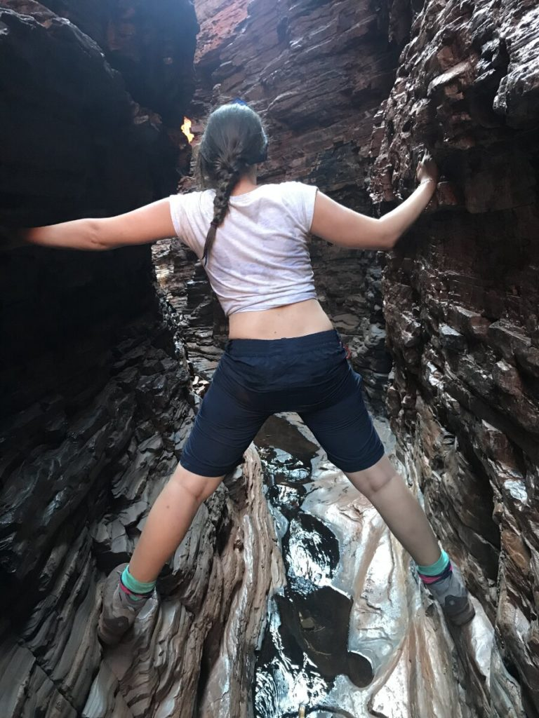 Woman in Weano Gorge