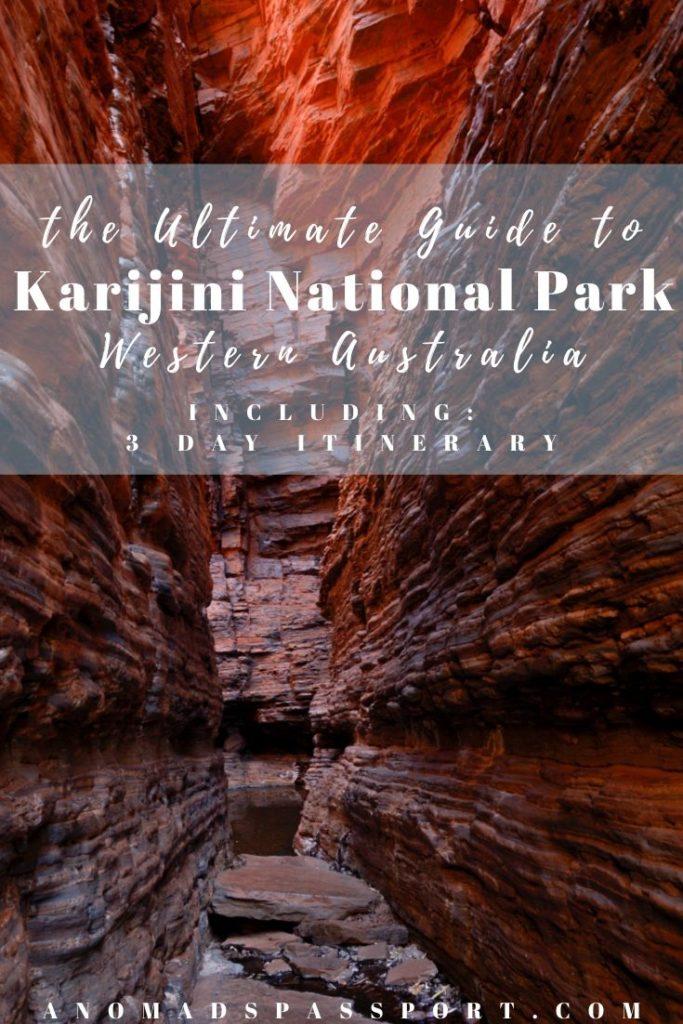 3 Days in Karijini National Park