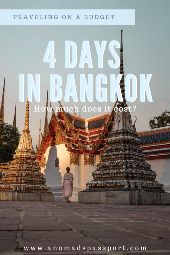 Four Days in Bangkok on a Budget Pinterest