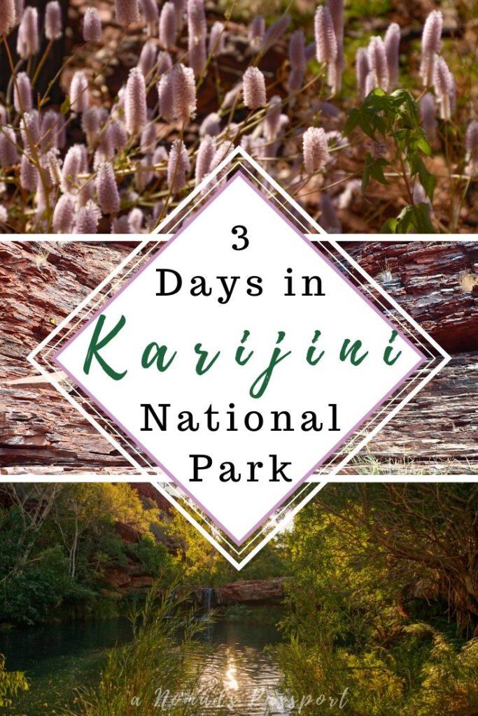 3 Days in Karijini Itinerary