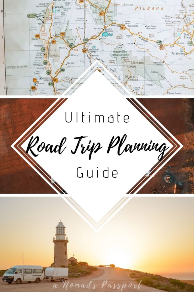 Ultimate Road Trip Planner that will help you plan the perfect road trip itinerary