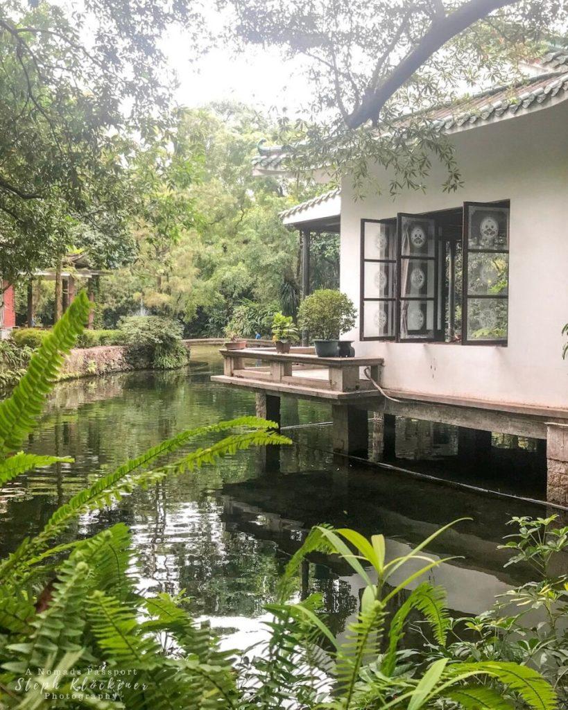 Tea House in Orchid Garden, Guangzhou, China