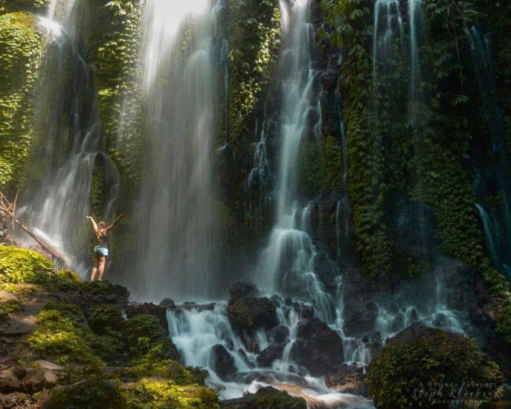 Stunning Waterfall in Indonesia