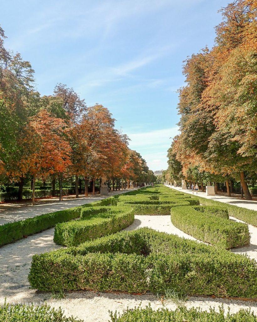 El Retiro Park in Spain