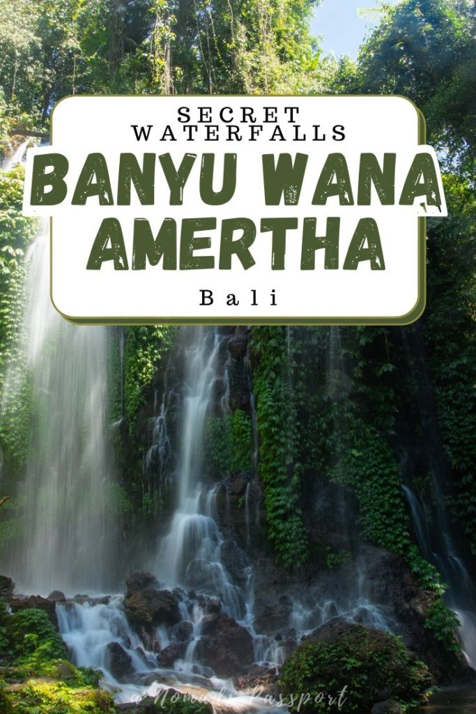 Secret Waterfalls Gem Banyu Wana Amertha Bali