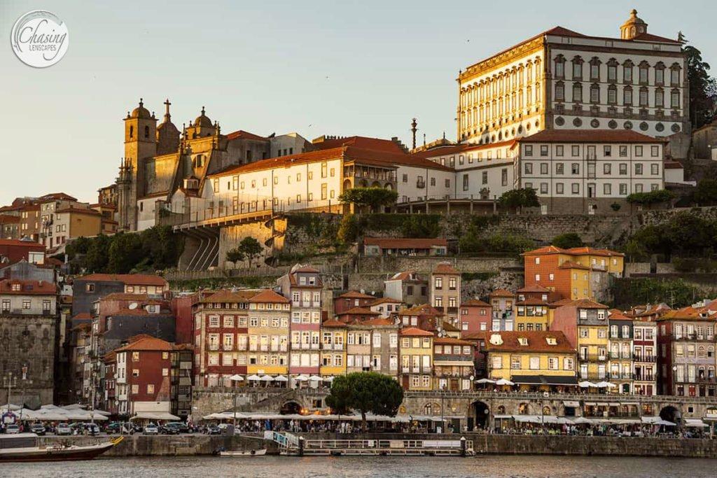 Porto as seen from the water - weekend break in Portugal