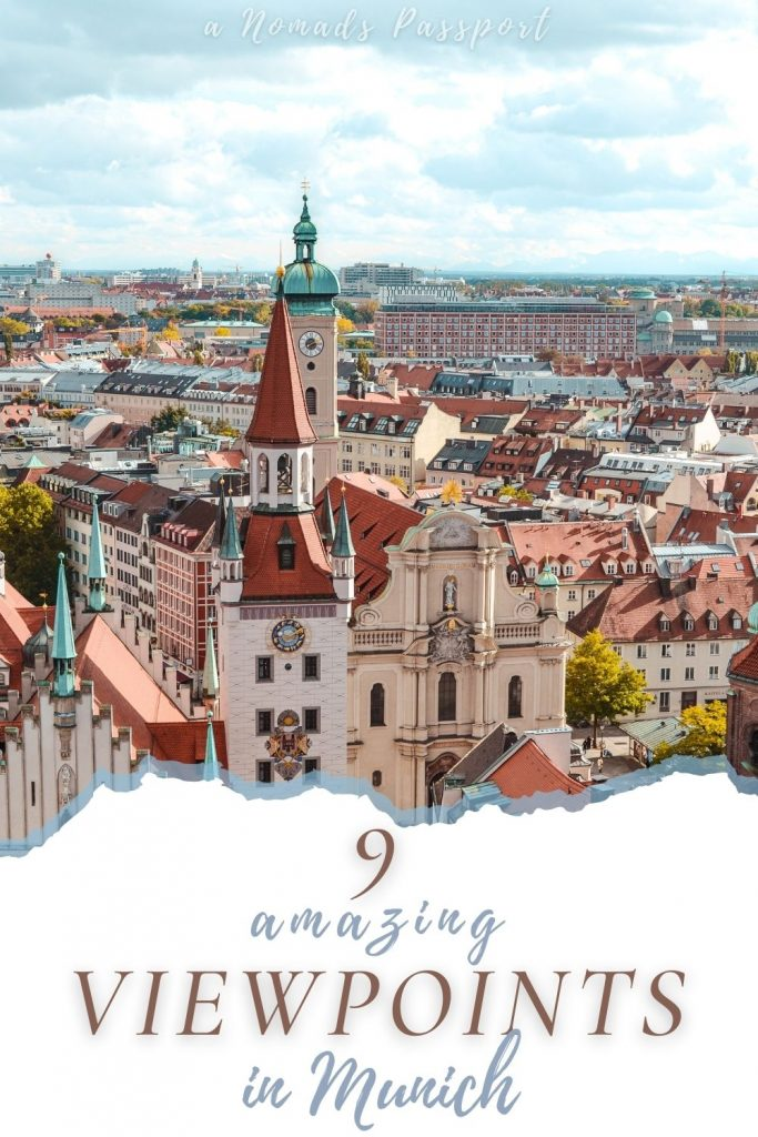 9 amazing viewpoints in Munich