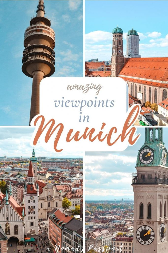4 pictures of amazing viewpoints in Munich