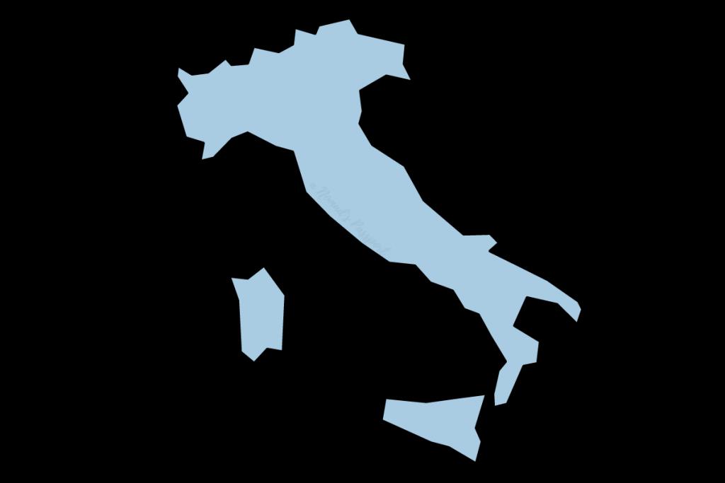 Shape of Italy