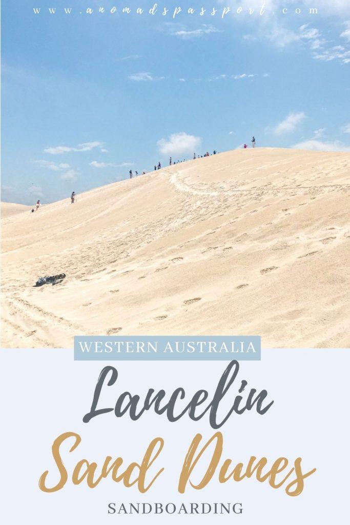 Western Australia's Lancelin Sand Dunes