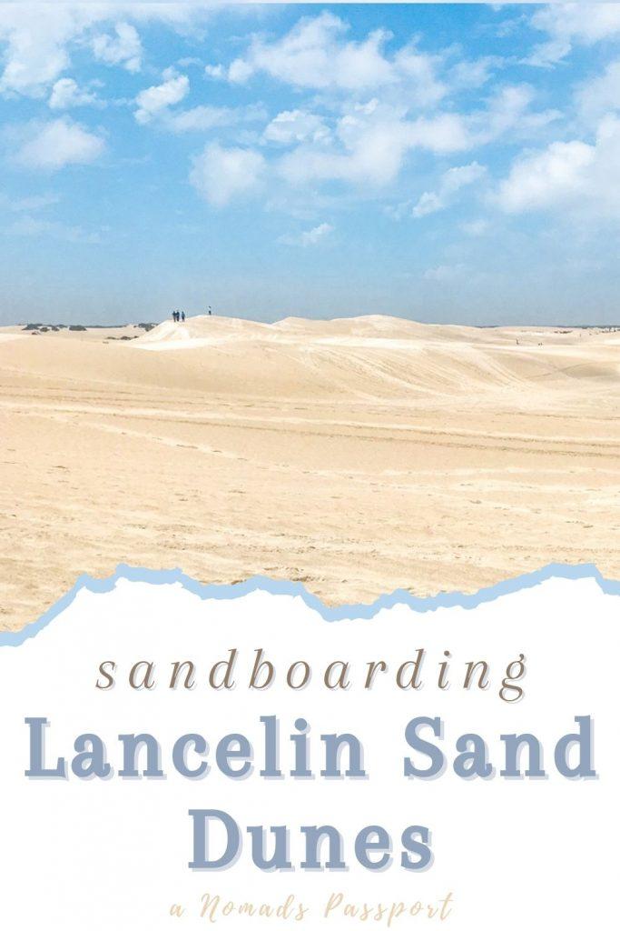 Sand dunes of Lancelin