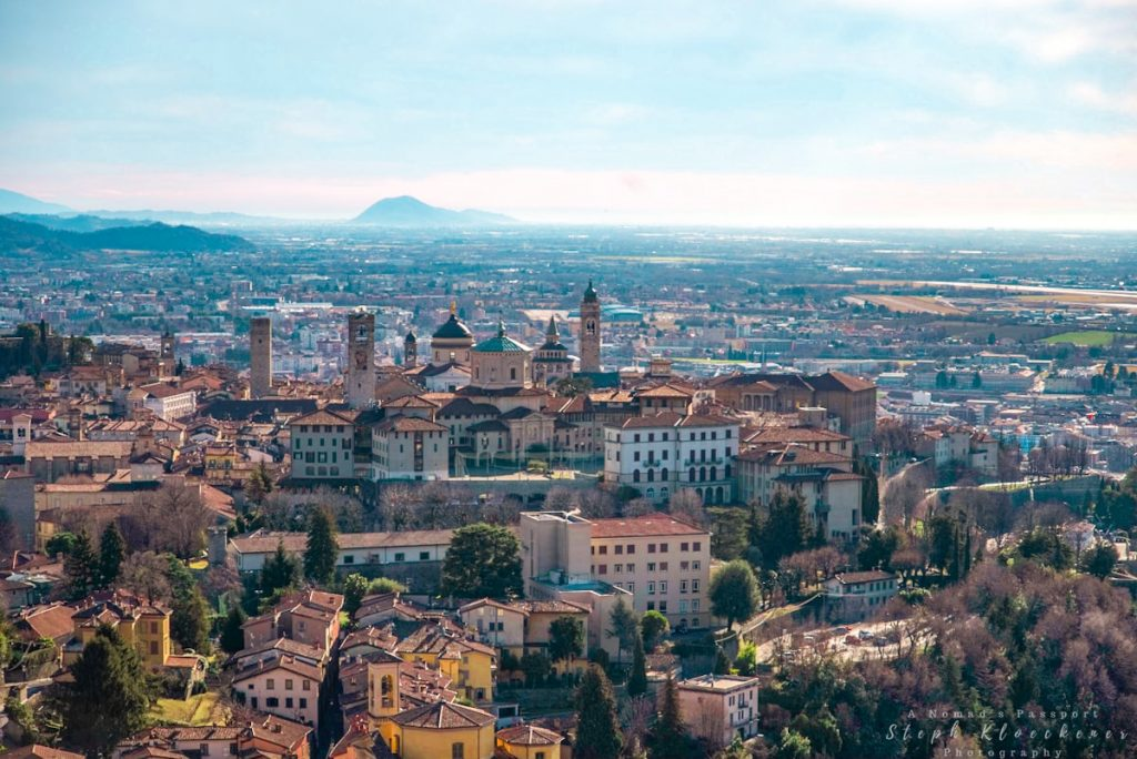 Old Town of Bergamo which is considered an off-the-beaten-track destination in Italy