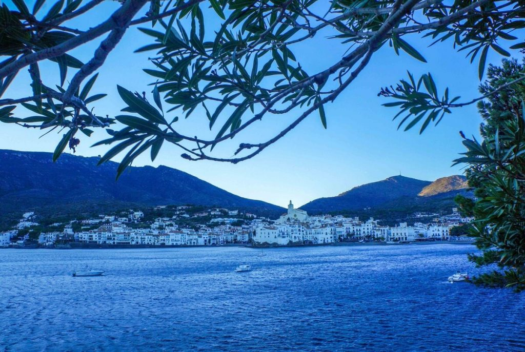Cadaqués in Spain during the Blue Hour