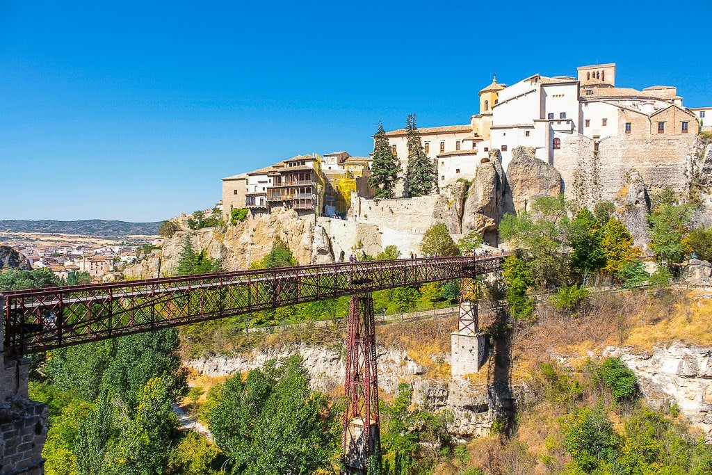 San Paul Bridge in Cuenca, which is one of the hidden gems in Spain