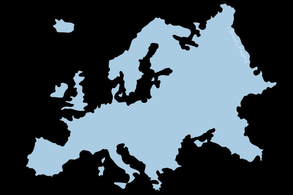 Europe shape