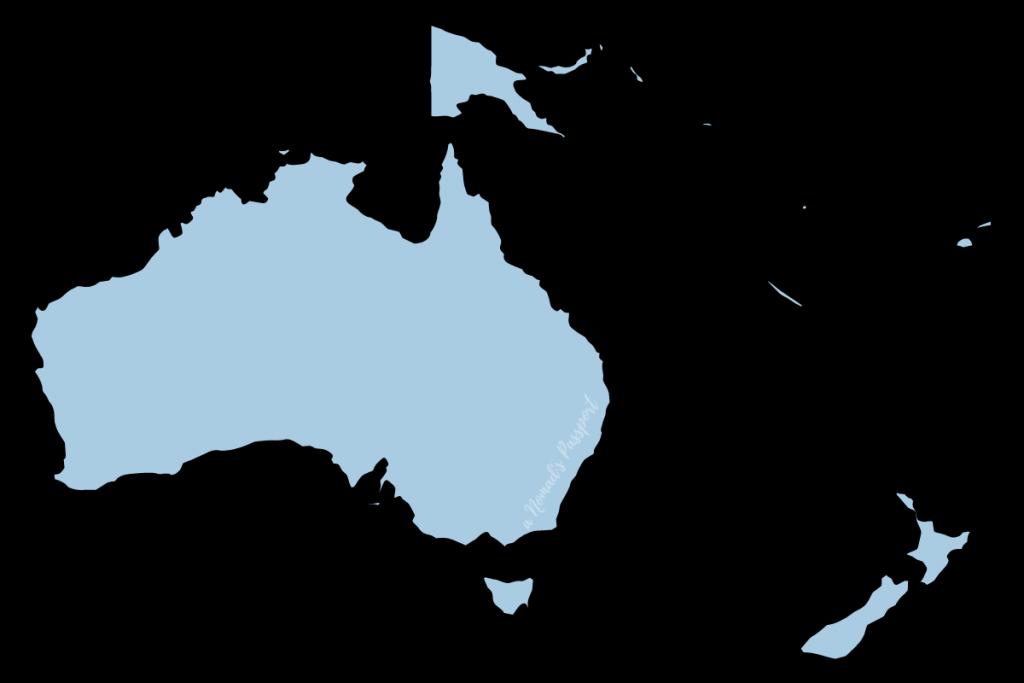 Oceania Shape