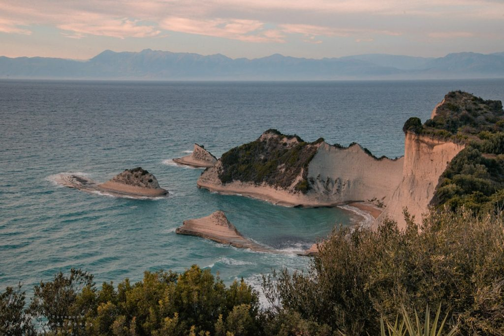 Cape Drastis in Corfu, which happens to be one of the best islands in Greece