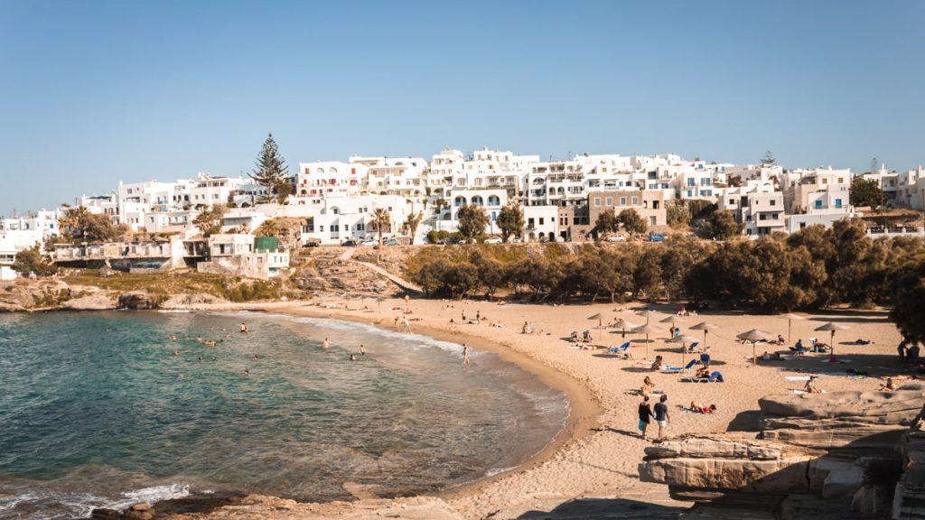 Beach of Paros