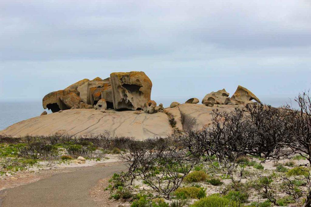 Remarkable Rocks, Flinders Chase National Park in Southern Australia