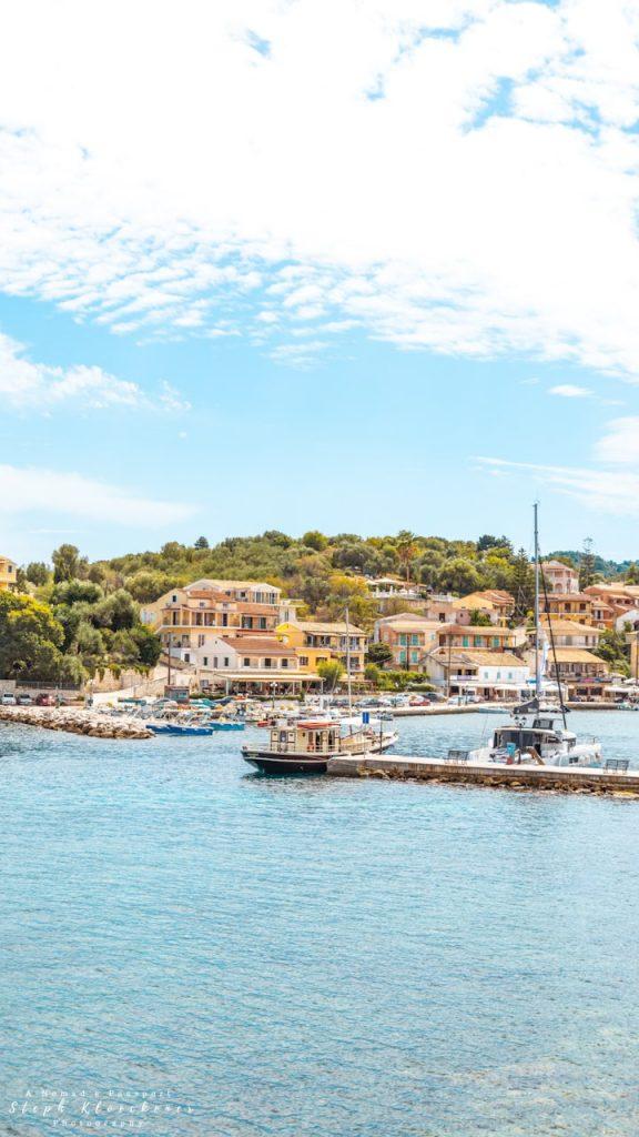 Corfu Images of Kassiopi's Marina
