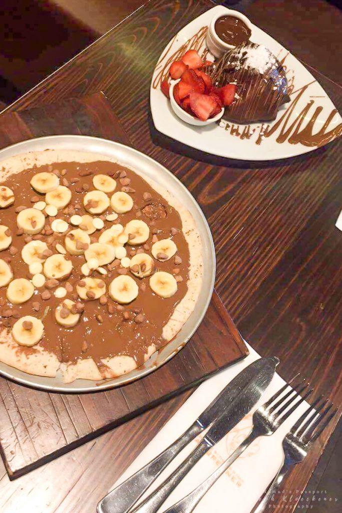 Sweet Treats in a restaurant in Sydney