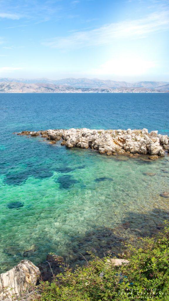 Ocean near Kassiopi,  Corfu