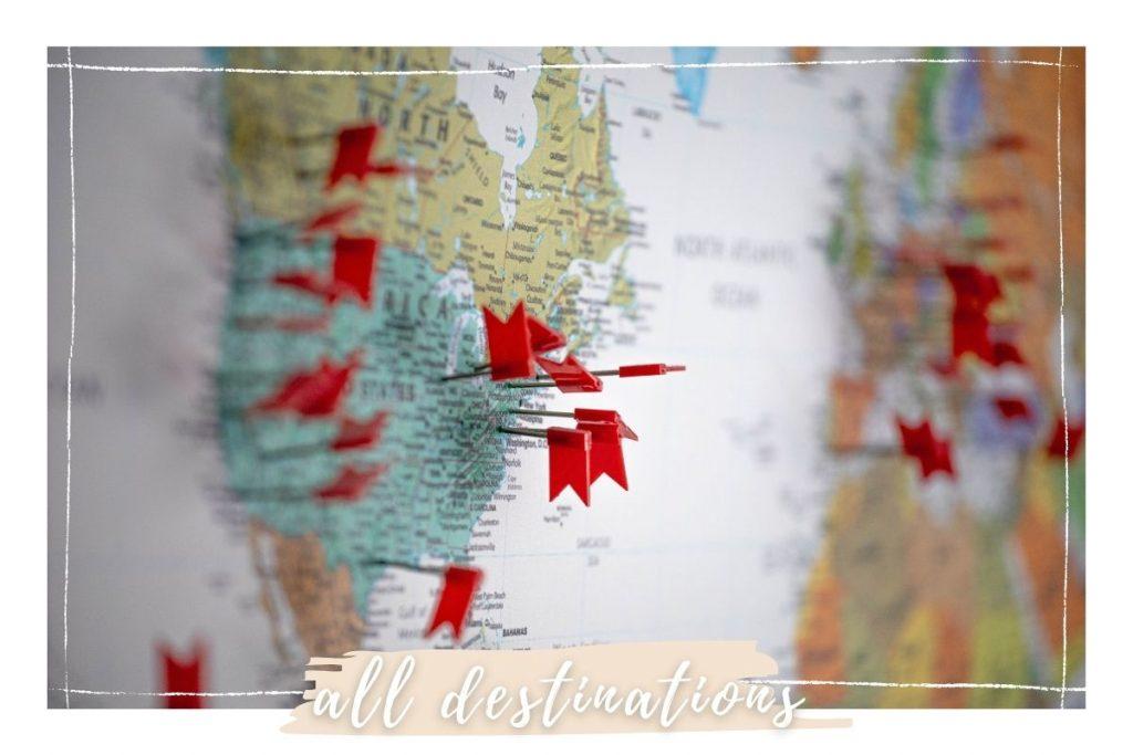 all destinations