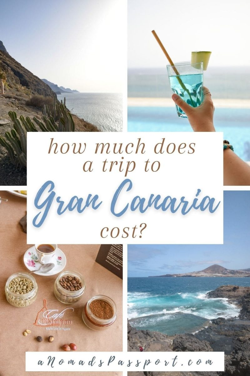 how much does a trip to Gran Canaria cost?