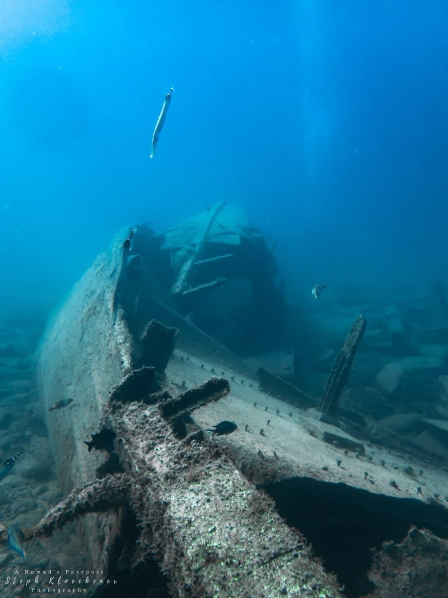 Cermona II Wreck near Puerto de Mogán